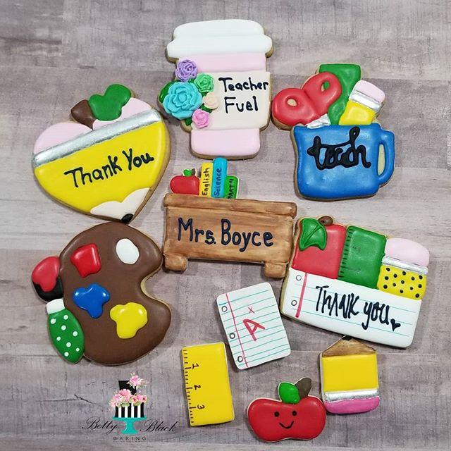 Teacher appreciation cookie pre sale is