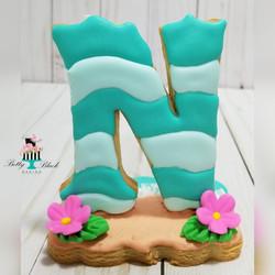 Water wave cookie