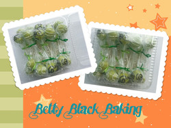 Key Lime Birthday cake pops