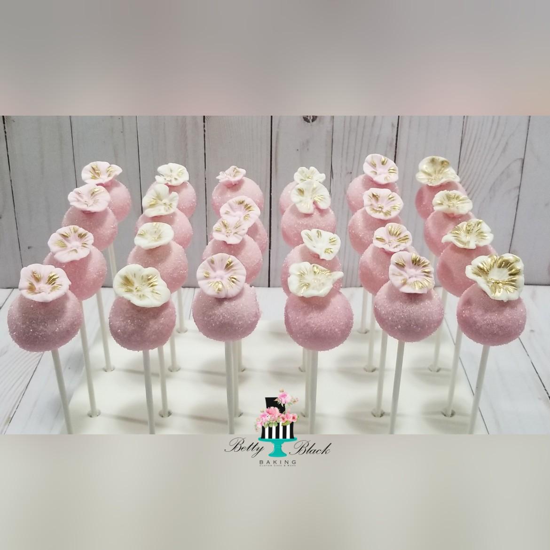 Floral cakepops