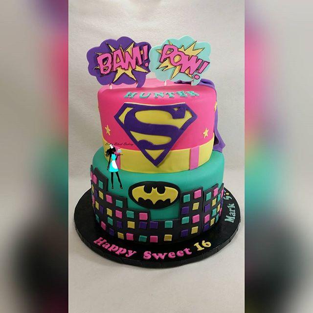 Super Hero Girl Cake
