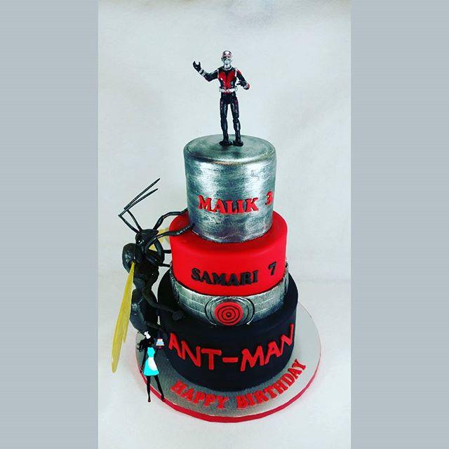Ant Man Birthday Cake