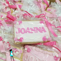 72 cookies. Baby name cookies. Delivered today