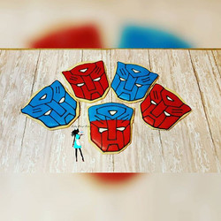 Autobots Roll out! Transformers sugar cookies for a 5th birthday!# boybirthday#celebrate#sugarcookie
