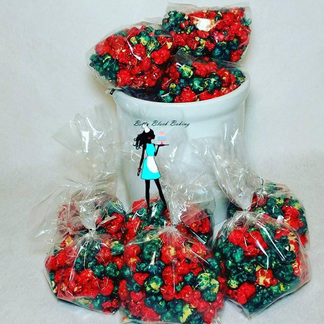 Happy Memorial Day! Cherry & Very Berry#candiedpopcorn#cherry#veryberry#popcorn#plantation#sunrise#f