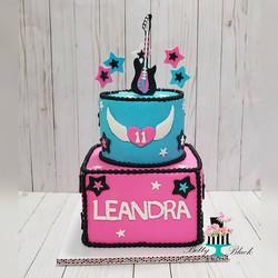 Rock on Leandra Rock on! #rockstarthemed