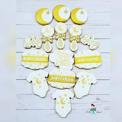 Twinkle twinkle cookies for _ahirokoeats