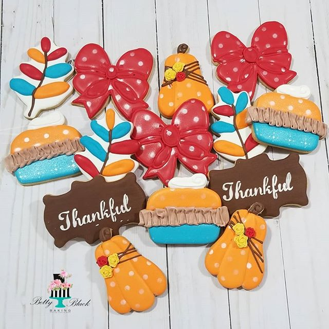 Happy Thanksgiving from Betty Black Baki