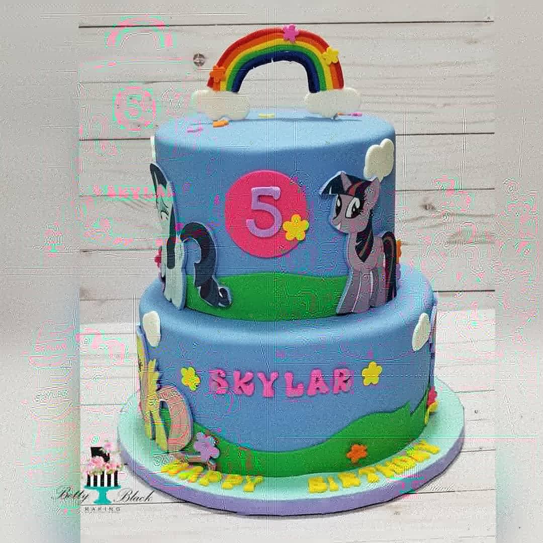 My little Pony Birthday Cake