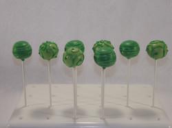 Green swirls & stripes