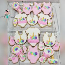 Unicorn Baby Cookies