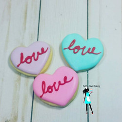 Mini Love Sugar cookies