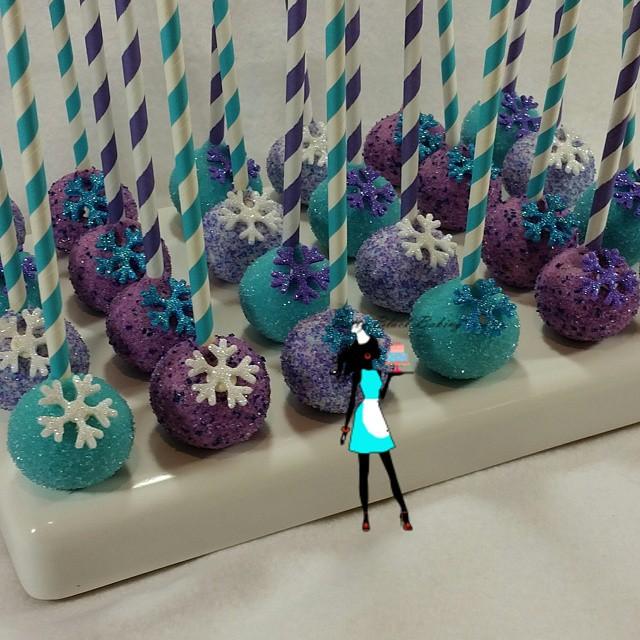 Frozen Theme Cake pops