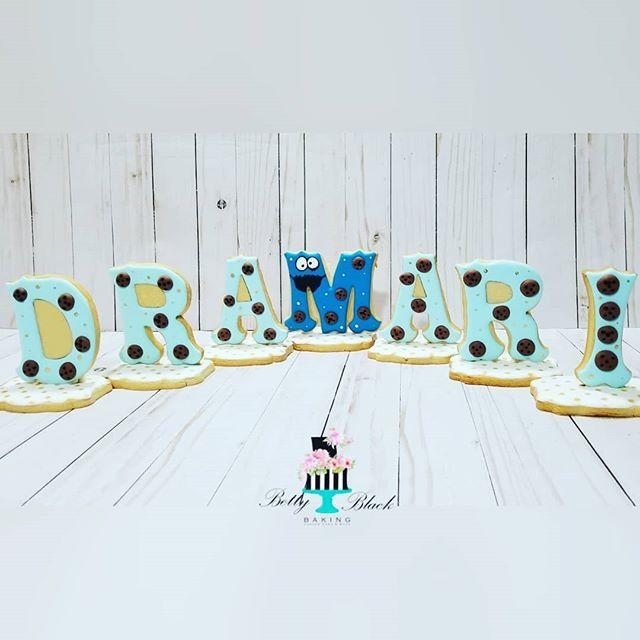Cookie monster for Dramari's birthday