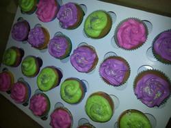 Mardi gras Theme Cupcakes