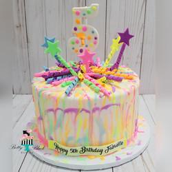 Glow in the dark cake