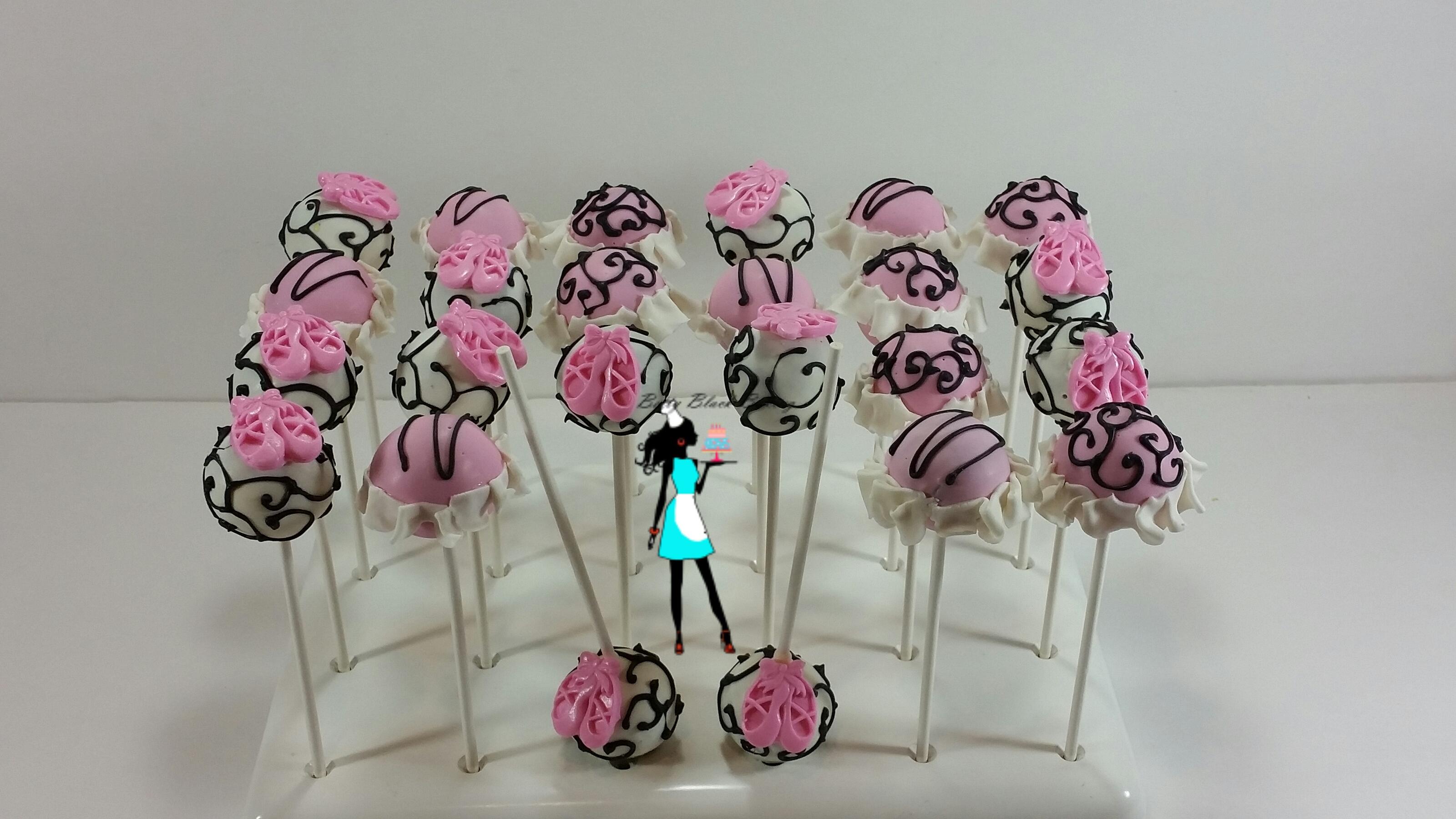 Ballerina Theme Cake Pops