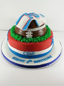 Patriots Football Birthday Cake