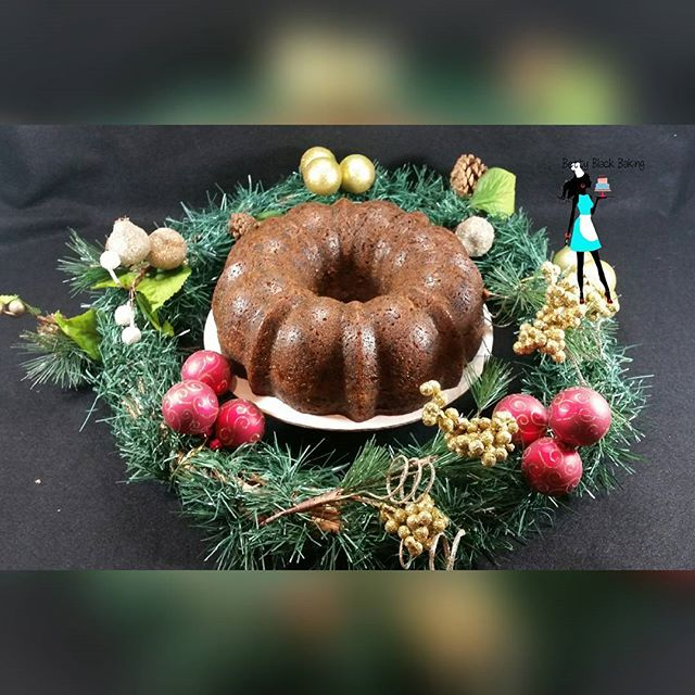 Caribbean Black Fruit cake