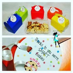 Teacher appreciation cookies boxes! Butter cookies