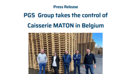 PGS Group takes the control of Caisserie MATON in Belgium