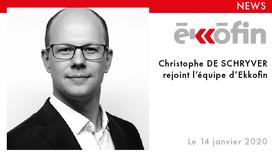 Christophe De Schryver rejoint Ekkofin