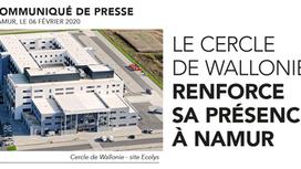 Le cercle de Wallonie renforce sa présence à Namur