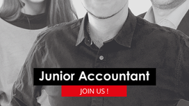 Job : junior accountant