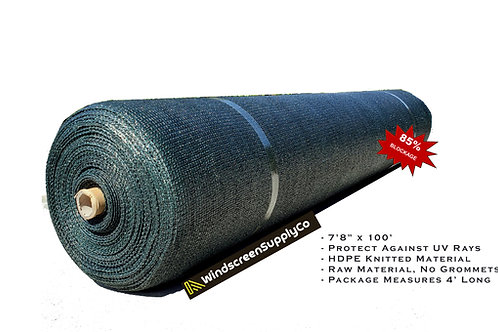 "8' x 100' (7'8"") Raw Roll Privacy Screen"