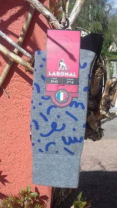 """Chaussettes LABONAL homme """"graffiti"""""""
