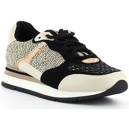 Sneakers Buckeye écru/noir