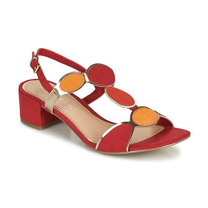 Sandale rouge comb