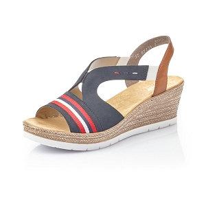 sandales réf 619S6 bleu