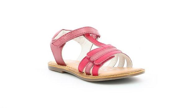 Sandales réf rose foncé métalisé