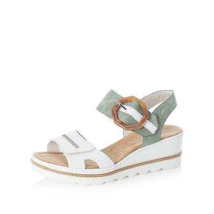 sandales 67476 blanc