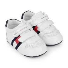 Baskets bébé blanc