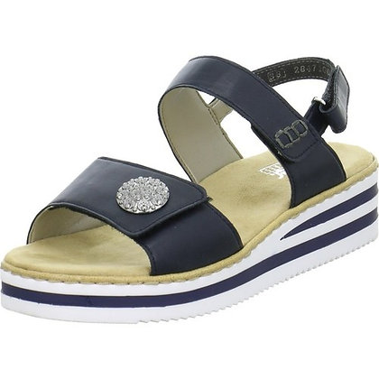 Sandales réf V02C8 marine