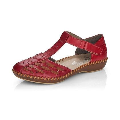 Sandales réf M1658 rouge