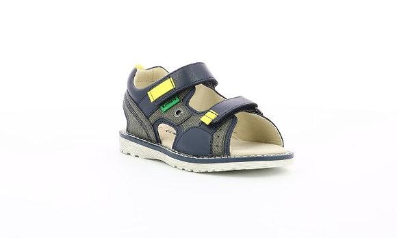 Sandales réf kaki/marine