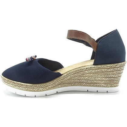 sandales réf 61954 bleu