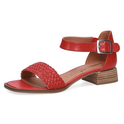 Sandales réf 28208 rouge