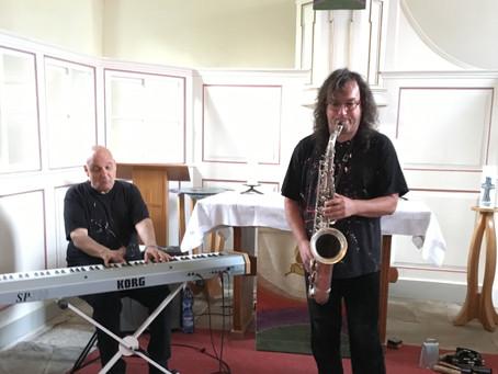 Jazz Klänge in Hornels Kirche