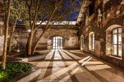 Alembic Museum Courtyard