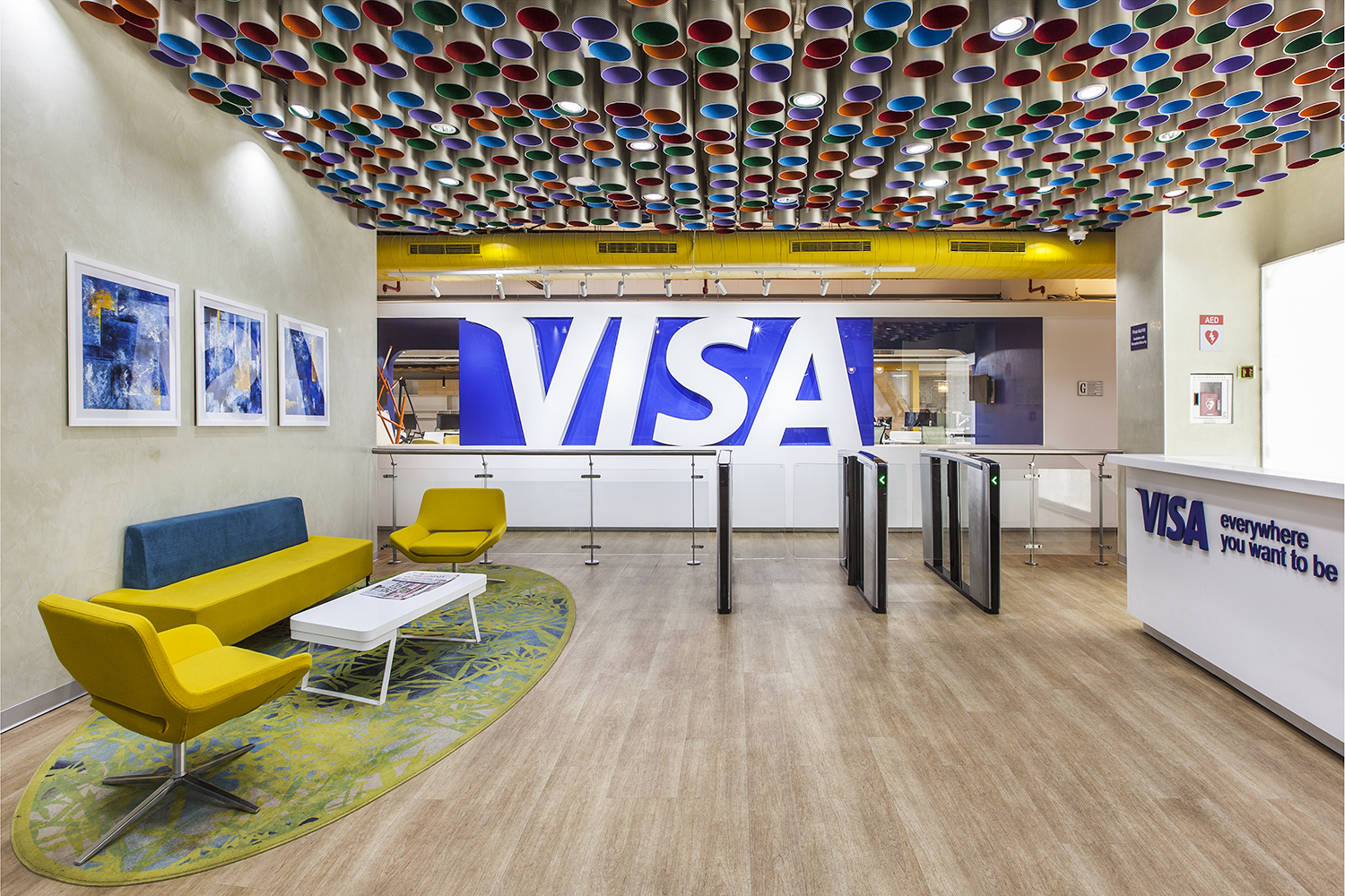 VISA Reception