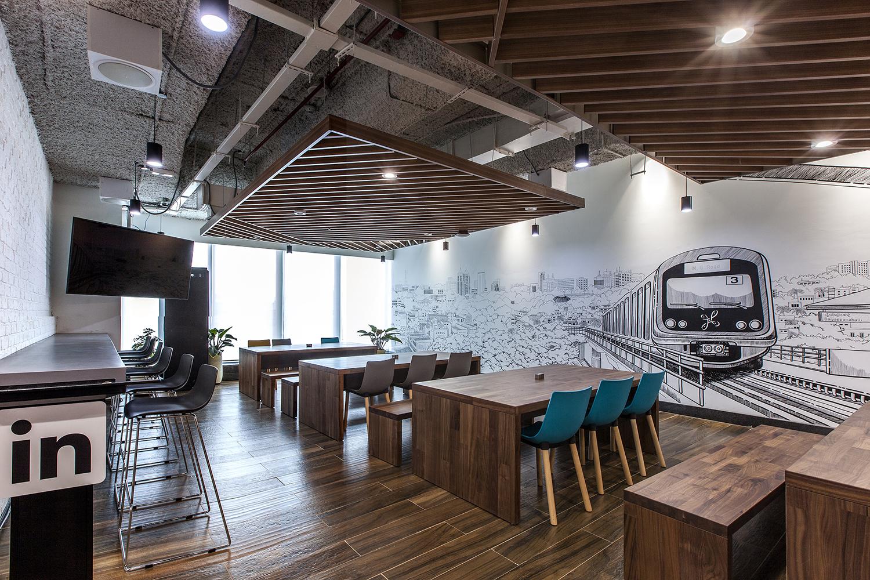 LinkedIn Cafeteria