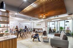 NEAR Cafe area