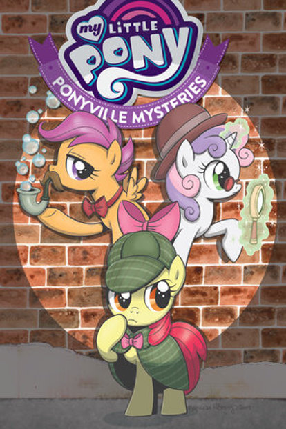 MY LITTLE PONY PONYVILLE MYSTERIES TP VOL 01