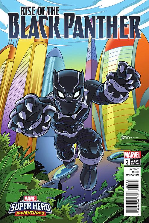 RISE OF BLACK PANTHER #3 (OF 6) Marvel Super Heroes Adventures VAR