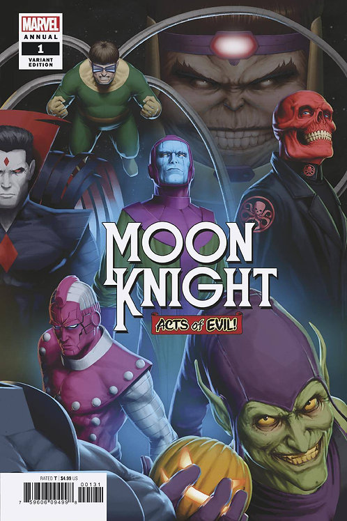 MOON KNIGHT ANNUAL #1 CHRISTOPHER CONNECTING VAR