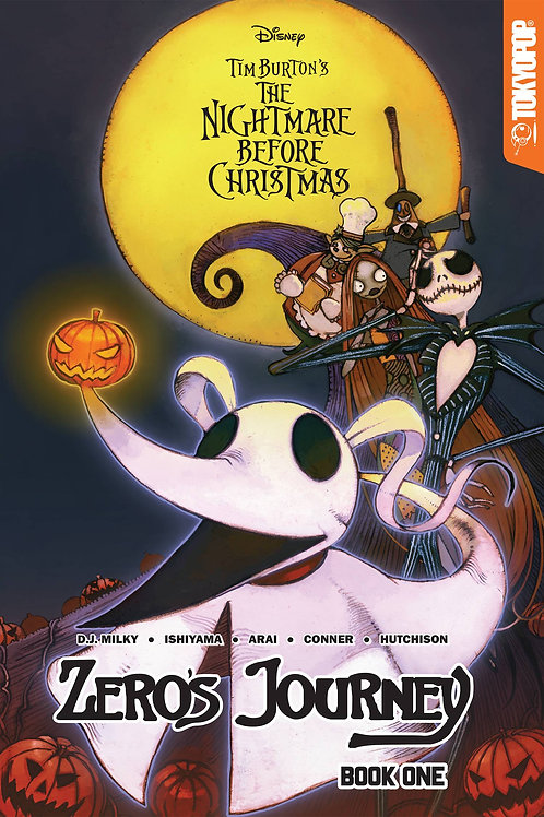 DISNEY MANGA NIGHTMARE CHRISTMAS ZEROS JOURNEY TP